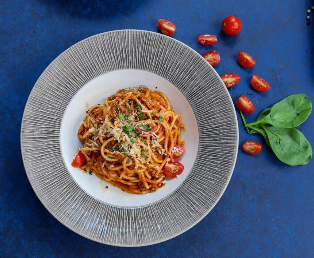 spaghettata à la sauce tomate