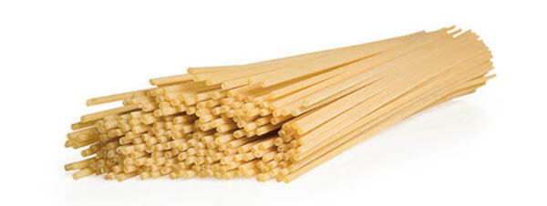 Types de pâtes bucatini