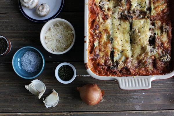 Types de pâtes lasagne