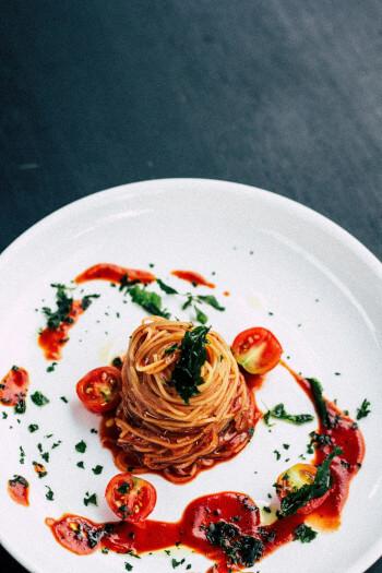 Types de pâtes spaghettis