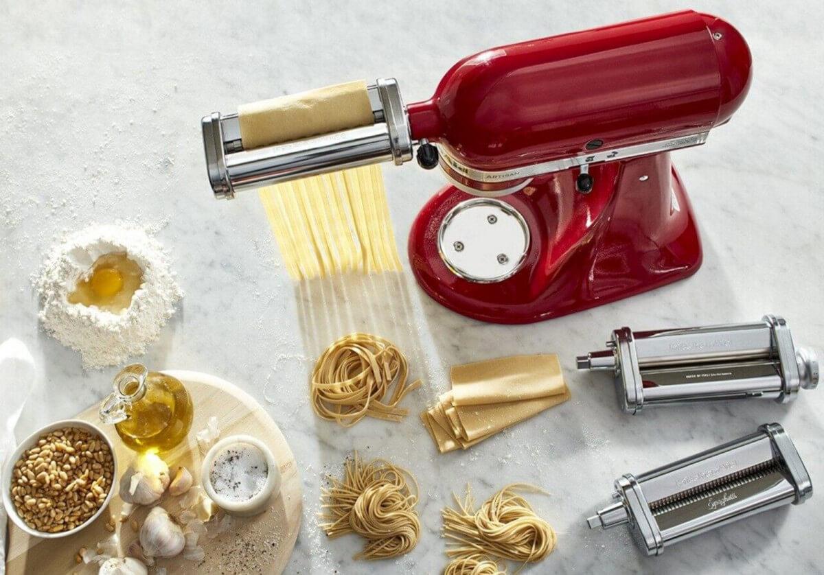 KitchenAid machine à pâtes présentation