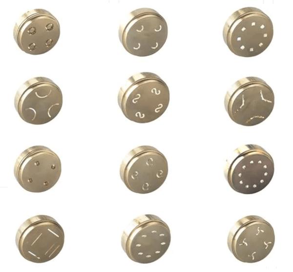 Appareil à pâtes Kenwood filières disques de forme