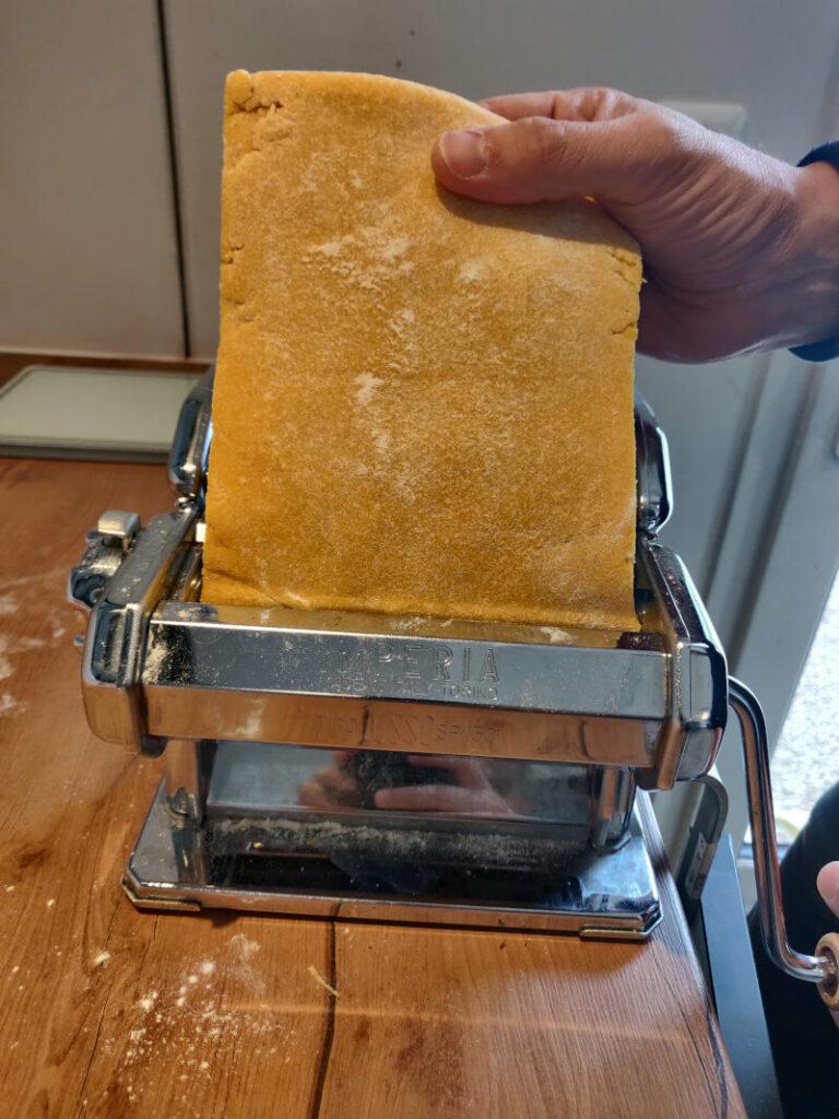 pâte au laminoir