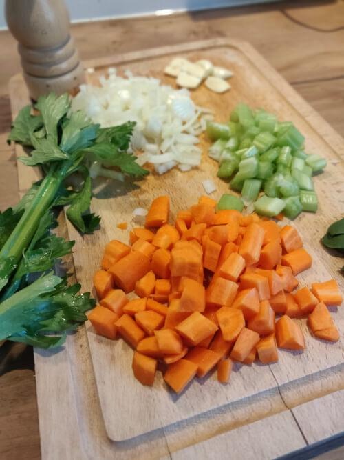 Recette canneloni maison ingrédients pour la sauce